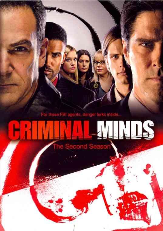 CRIMINAL MINDS:SECOND SEASON BY CRIMINAL MINDS (DVD)